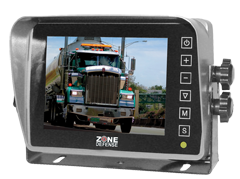 "Zone Defense 5"" Digital LCD Monitor with Wide View Angle - Advance Electronics"