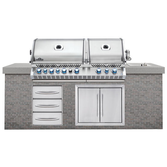 Napoleon Built-In Prestige Pro 825 with Infrared Rear Burner Stainless Steel