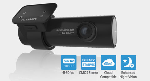 BlackVue DR750S-1CH Best Single-Channel Cloud Dash Camera