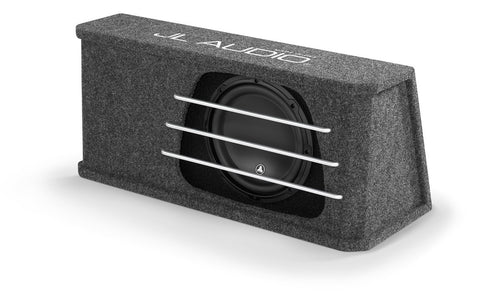 JL Audio HO112RG-W3v3: Single 12W3v3 H.O. Wedge, Ported, 2 Ω - Advance Electronics  - 1