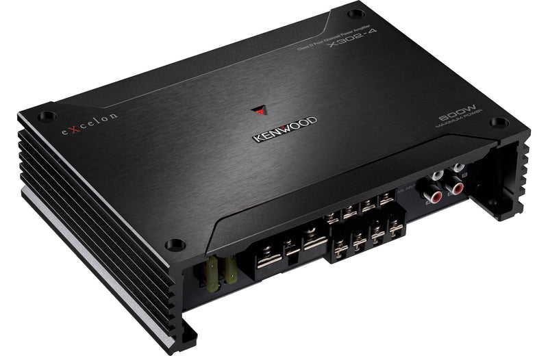 Kenwood X302-4 eXcelon X-Series 4-channel Car Amplifier