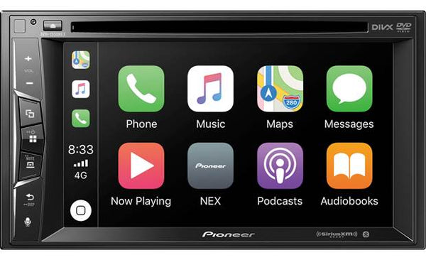 "Pioneer AVH-1550NEX Multimedia DVD Receiver with 6.2"" WVGA Display"