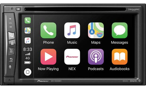 Pioneer AVIC-W6500NEX Flagship In-Dash Navigation AV Receiver with 6.2˝ WVGA Clear Resistive Touchscreen Display