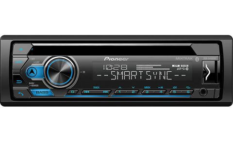 Pioneer DEH-S4120BT CD Receiver with Improved Pioneer Smart Sync App Compatibility & Bluetooth®
