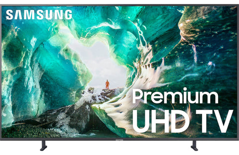 "Samsung UN49RU8000 49"" Smart LED 4K Ultra HD TV with HDR"