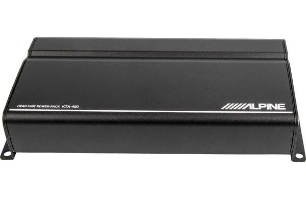 Alpine KTA-450 4-Channel Power Pack Amplifier with PowerStack Capability