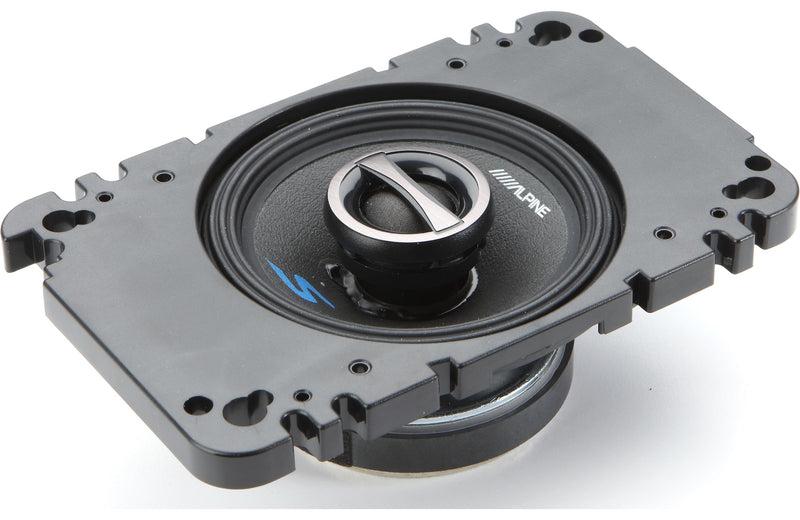 "Alpine S-S40 4"" Coaxial 2-Way Speaker Set"