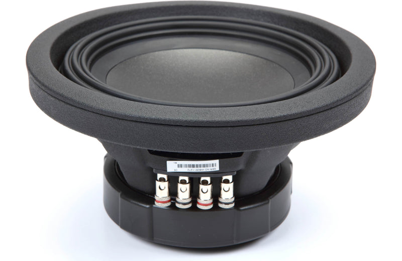"Alpine S-W8D2 S-Series 8"" Subwoofer with Dual 2-ohm Voice Coils"