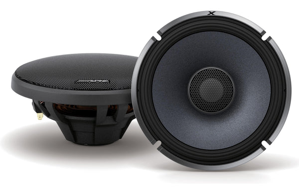 Alpine X-S65 X-Series 6.5 Inch Coaxial 2-Way Speakers