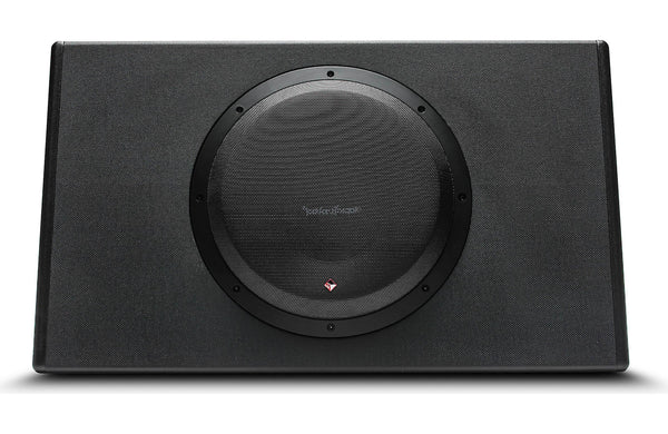 "Rockford Fosgate P300-12T Truck-style 300-watt Powered 12"" Subwoofer"