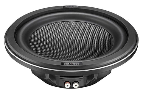 "Kenwood KFC-XW1000F 10"" Slim Subwoofer - Advance Electronics"