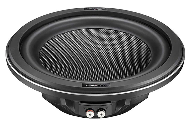 "Kenwood KFC-XW1200F 12"" Slim Subwoofer - Advance Electronics"