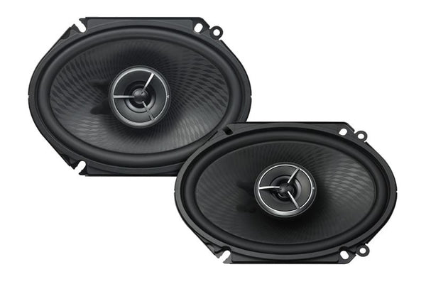 "Kenwood KFC-X683C eXcelon 6"" x 8"" 2-Way Custom Fit Speaker System - Advance Electronics"