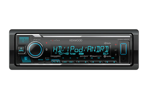 Kenwood KMM-X503 eXcelon Digital Media Receiver with Bluetooth & HD Radio