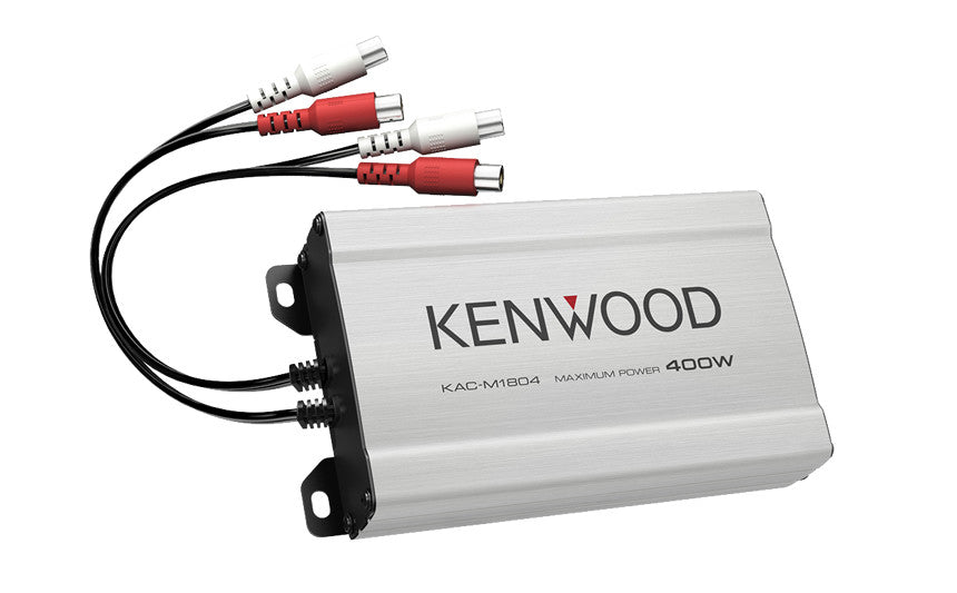 Kenwood KAC-M1804 Compact 4 Channel Digital Amplifier - Advance Electronics