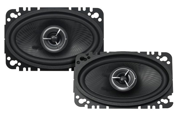 "Kenwood KFC-X463C eXcelon 4"" x 6"" 2-Way Custom Fit Speaker System - Advance Electronics"