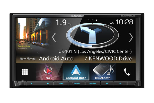 Kenwood DNX775RVS RV/Truck AV Navigation System with Bluetooth