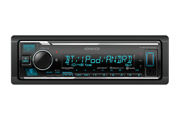 Kenwood KMM-BT325U Digital Media Receiver with Bluetooth