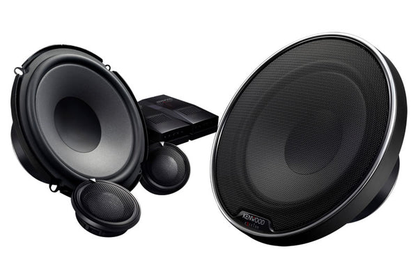 "Kenwood XR-1700P eXcelon Reference 6-1/2"" Component Speaker Package"