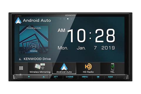 Kenwood DMX906S eXcelon Digital Multimedia Receiver with Bluetooth & HD Radio
