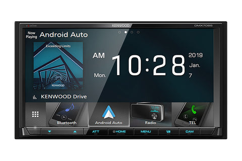 Kenwood DMX706S eXcelon Digital Multimedia Receiver with Bluetooth