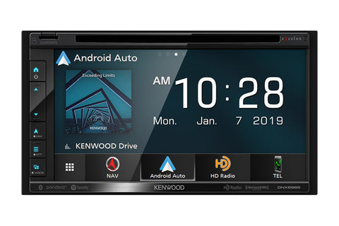 Kenwood DNX696S eXcelon Navigation DVD Receiver with Bluetooth & HD Radio