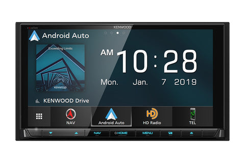 Kenwood DNX996XR eXcelon Reference Navigation DVD Receiver with Bluetooth & HD Radio