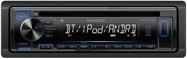 Kenwood KDC-BT23 CD Receiver with Bluetooth