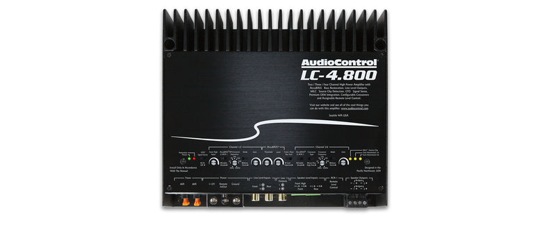 AudioControl LC-4.800 4-Channel Amplifier