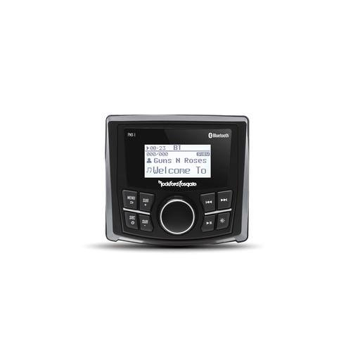"Rockford Fosgate PMX-1 Punch Marine Grade Media Receiver with 2.3"" Dot Matrix Display"