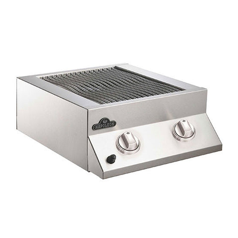 Napoleon Built-In Flat Top Dual Side Burner Stainless Steel
