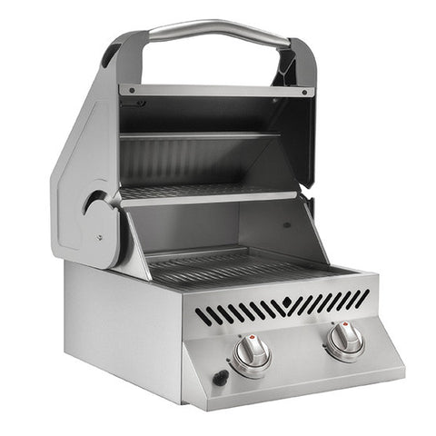 Napoleon Built-In Sizzle Zone Head with 2 Infrared Burners Stainless Steel