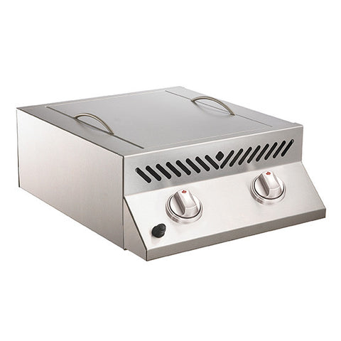Napoleon Built-In Flat Top Sizzle Zone Head with 2 Infrared Burners Stainless Steel