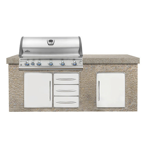 Napoleon Built-In Lex 730 with Infrared Bottom & Rear Burner Stainless Steel