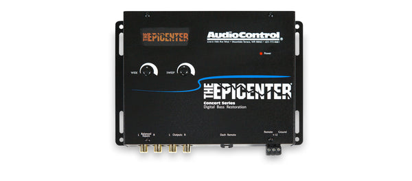 AudioControl The Epicenter® Concert Series Digital Bass Restoration Processor