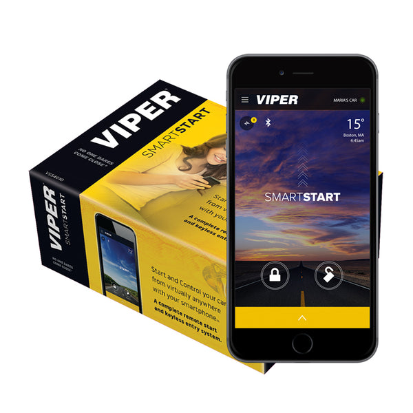 Viper DSM550P1 Smart Start Remote Starter and Alarm Combo (1 year subscription included)