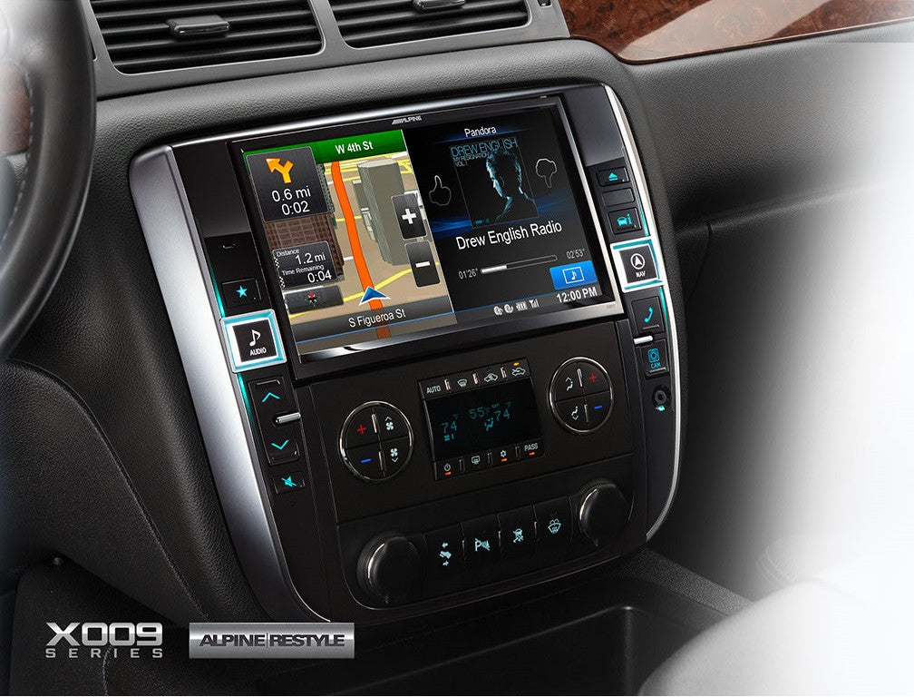 Alpine X009 Gm 9 Inch In Dash Restyle System For Gm