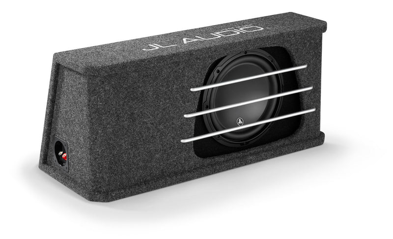JL Audio HO112RG-W3v3: Single 12W3v3 H.O. Wedge, Ported, 2 Ω - Advance Electronics  - 2