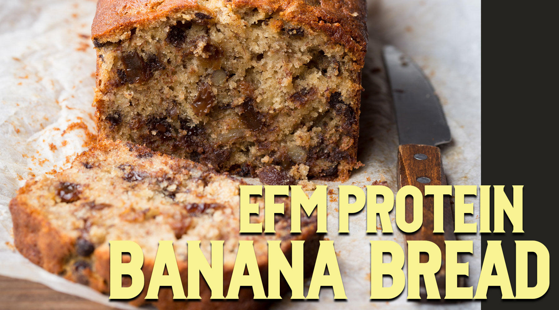 Protein-Packed Banana Bread
