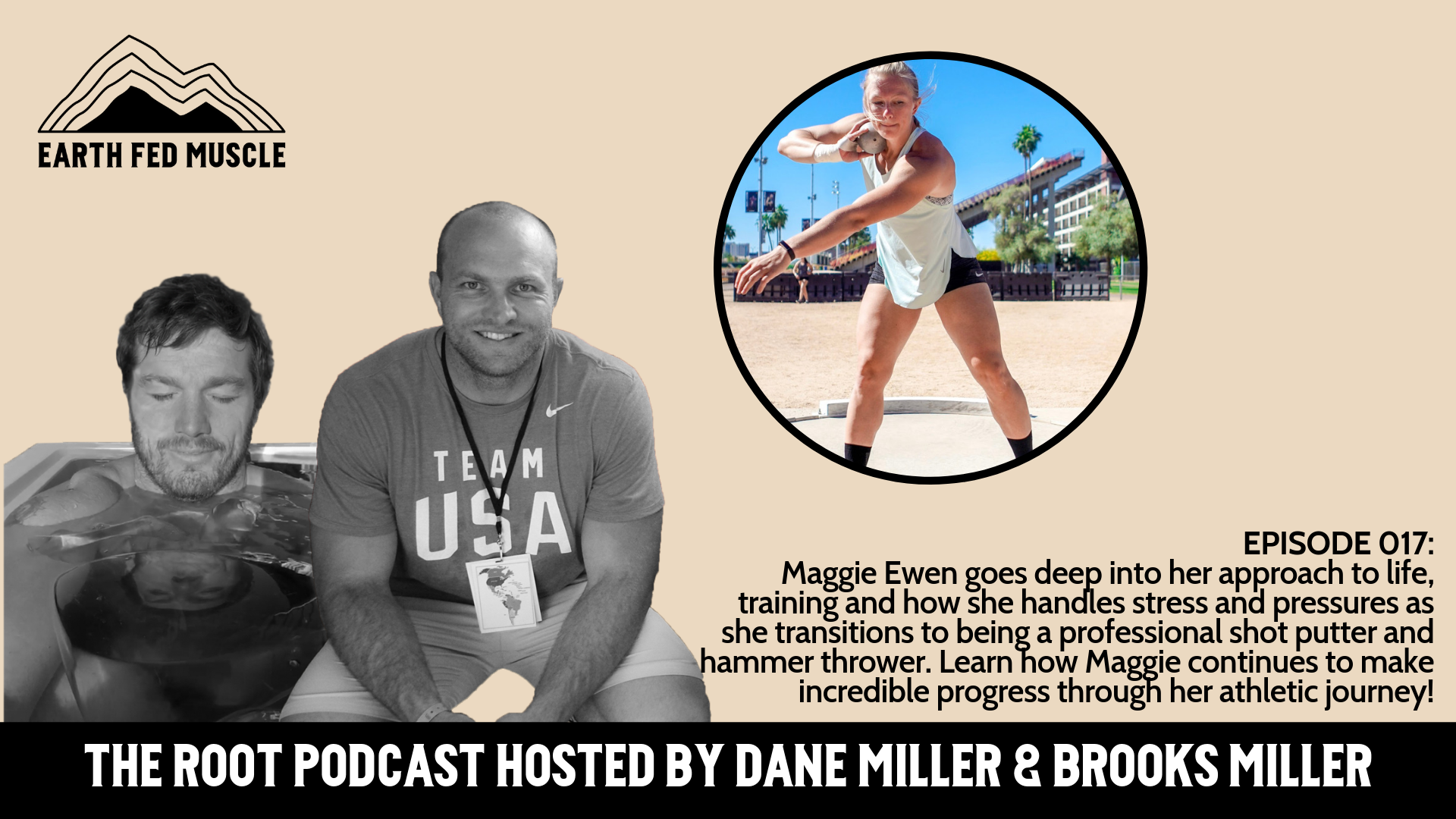 017: THE ROOT - MAGGIE EWEN - THE GREATEST COLLEGIATE THROWER OF ALL TIME