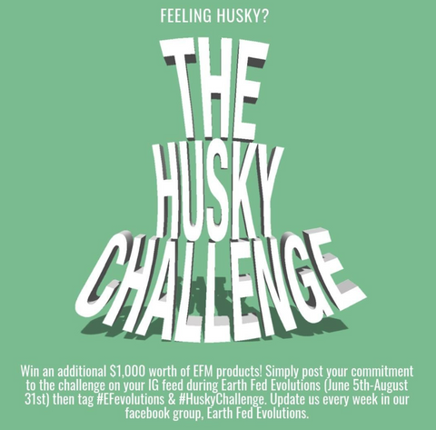 husky challenge earth fed muscle