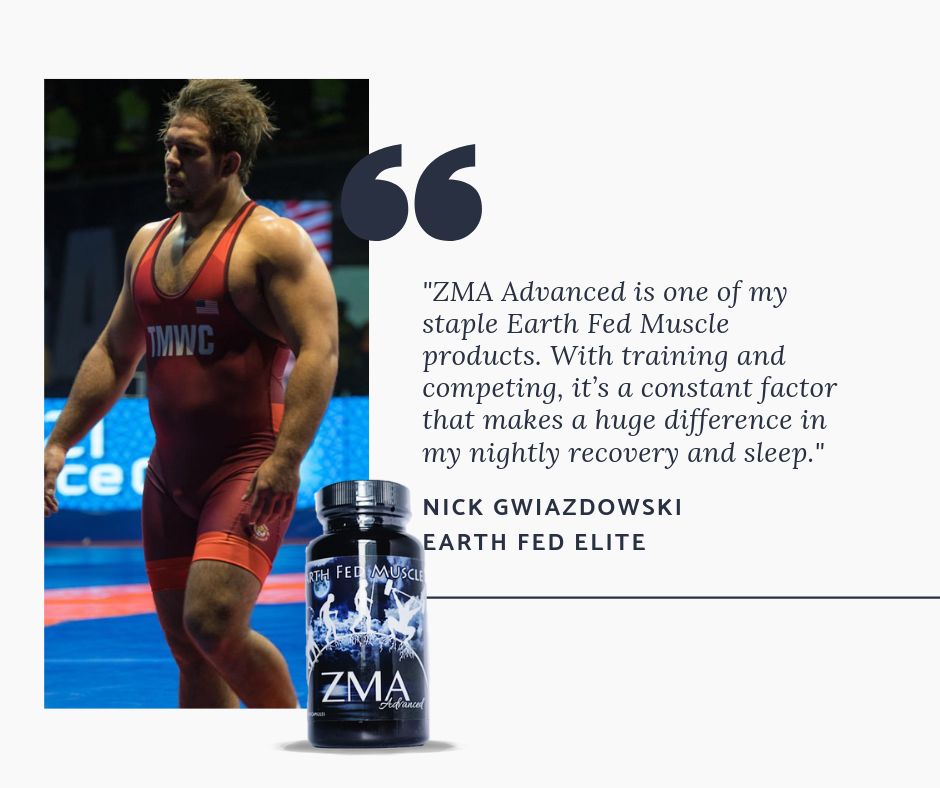 Nick Gwiz quote about ZMA