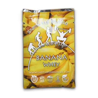 single serving protein sample pack banana