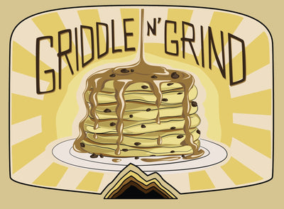 Griddle n' Grind Chocolate Chip Pancake and Waffle Mix