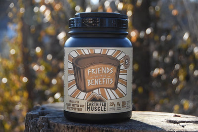 Friends with Benefits Grass Fed Peanut Butter Cup Protein Friends with Benefits Grass Fed Peanut Butter Cup Protein