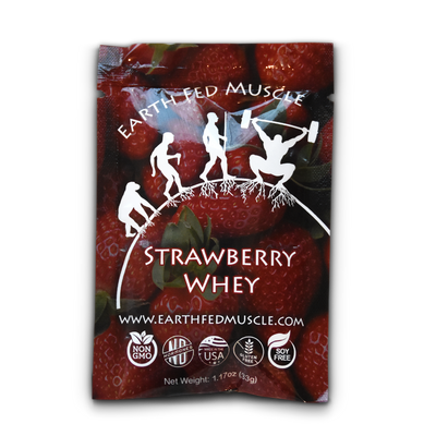 single serving protein sample pack strawberry