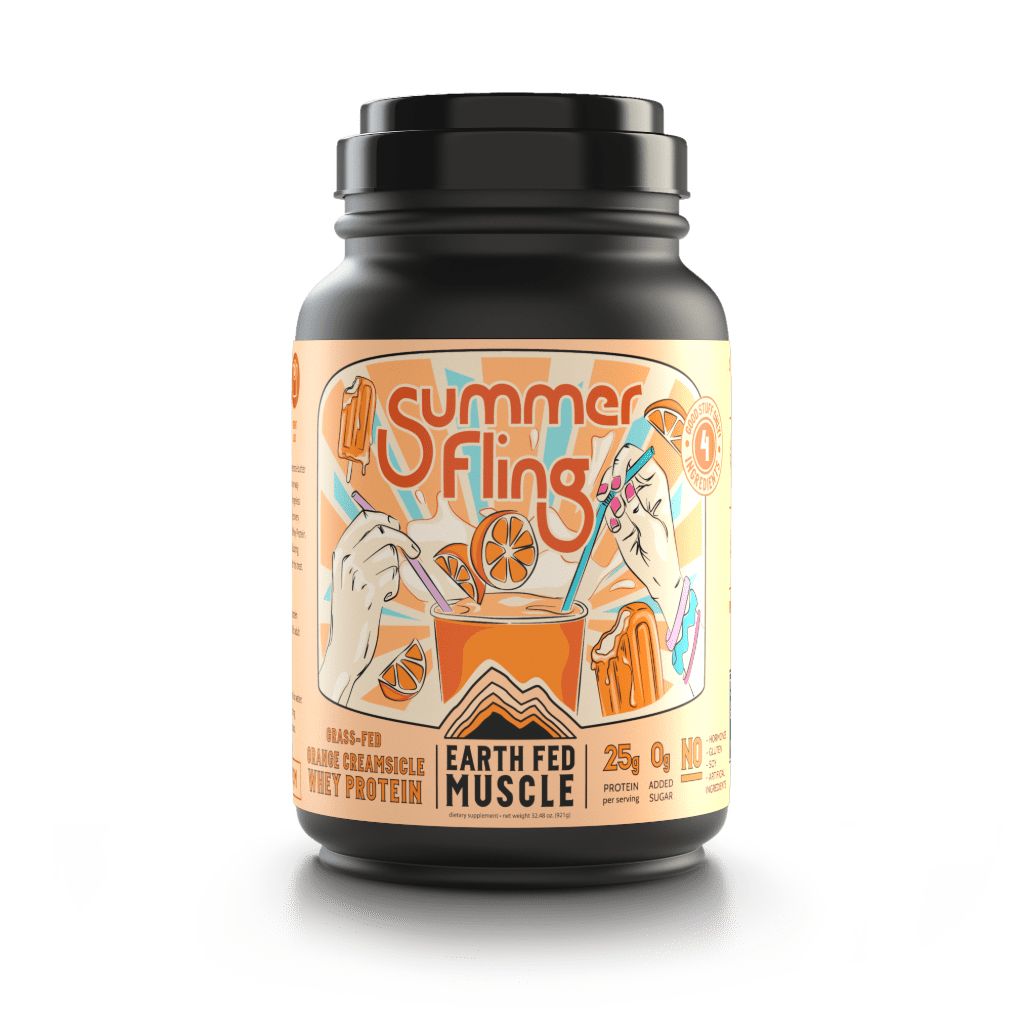 Summer Fling Orange Creamsicle Grass Fed Whey Protein