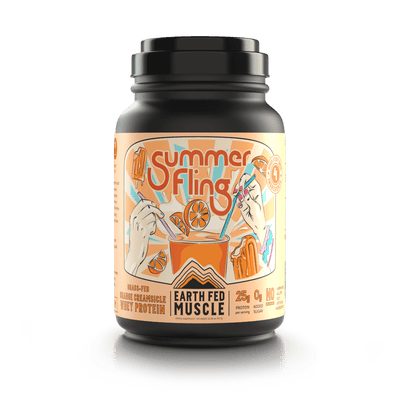 Summer Fling Orange Creamsicle Grass Fed Whey Protein Summer Fling Orange Creamsicle Grass Fed Whey Protein
