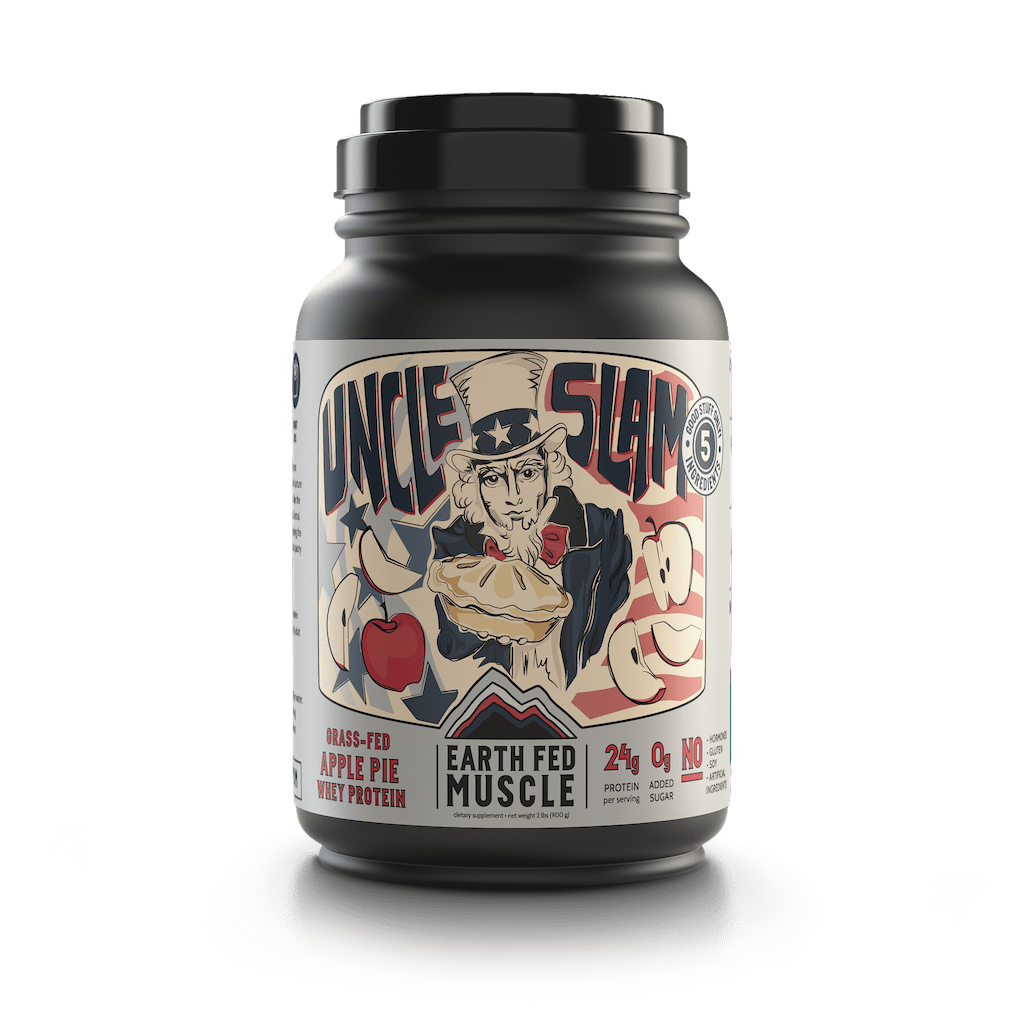 Uncle Slam - Apple Pie Grass Fed Protein