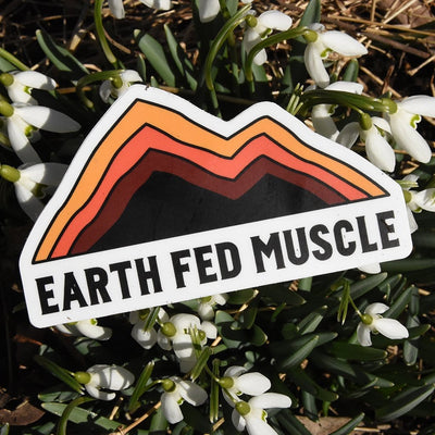 Earth Fed Die Cut Sticker (FREE GIFT) Earth Fed Die Cut Sticker (FREE GIFT)